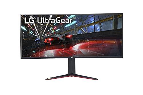 LG 38GN950-B 95,25 cm (37,5 Zoll) Curved UWQHD UltraGear Gaming Monitor (UltraWide, Nano IPS-Panel mit 1ms (GtG), 160 Hz), schwarz